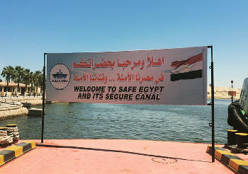 Egypt is looking into ways to limit marine life invasion because of the canal.