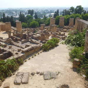 The Archaeological Site of Carthage in Tunisia