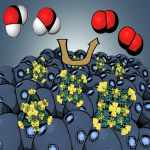 Generating durable nano-catalysts for water splitting from specially-designed metal-organic frameworks could facilitate efficient solar power storage solutions.