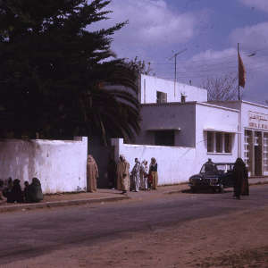 Outpatients department, Kenitra Hospital, about 50km north of the capital city Rabat.