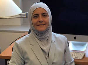 "Rana Dajani is the author of ""Five Scarves: A Memoir of an Arab Female Scientist""."