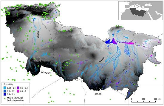 Ancient rivers tell story of first migration - News - Nature Middle East