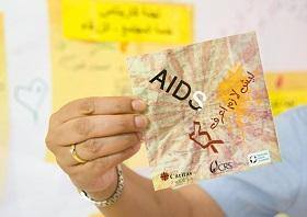 NGO's in the Middle East are trying to educate locals about HIV/AIDS.