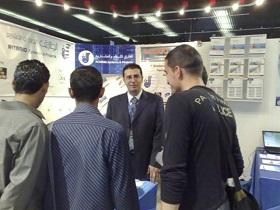 Al Tariq Systems showcase their services at ExpoTech Palestine